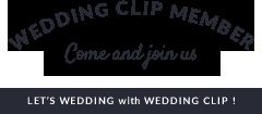 Wedding clip Member